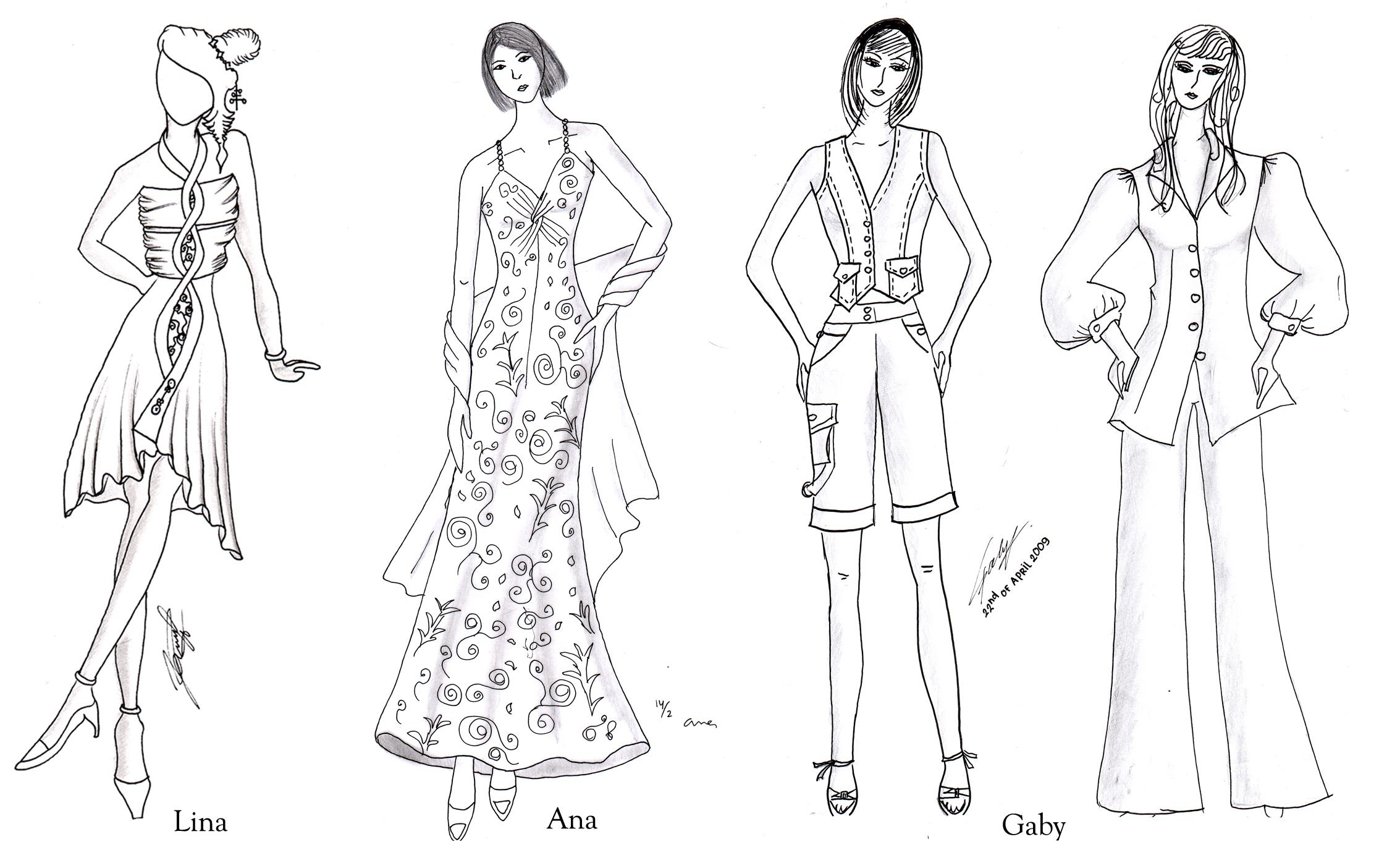 Pola Maxi Dress