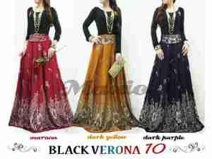 black verona10 -  125.000rb, katun rayon, allsize fit L